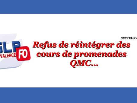 Prison de Valence : Refus de réintégrer des cours de promenades QMC...