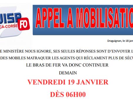 UISP-FO PACA-CORSE : Appel à mobilisation