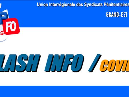 Flash-inFO Covid-19 : UISP Grand-Est-Strasbourg
