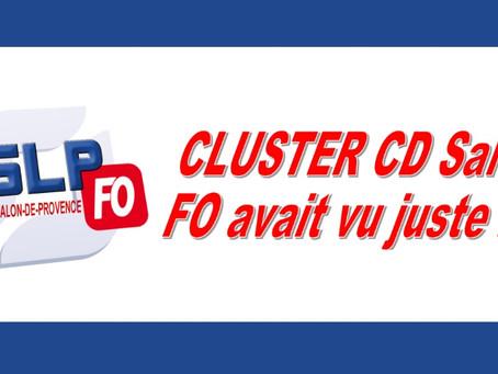 Prison de Salon-de-Provence : Cluster CD Salon FO avait vu juste !!!
