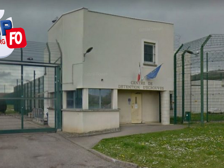Prison d'Écrouves : Nouvel incident au Centre de Détention