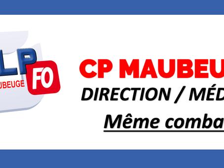 Prison de Maubeuge : Direction / Médecin, Même combat !