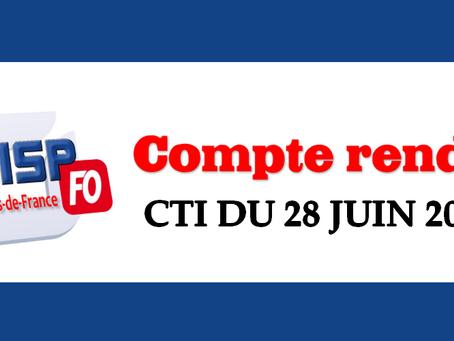 Compte rendu du Comité Technique Interrégional des Hauts-de-France