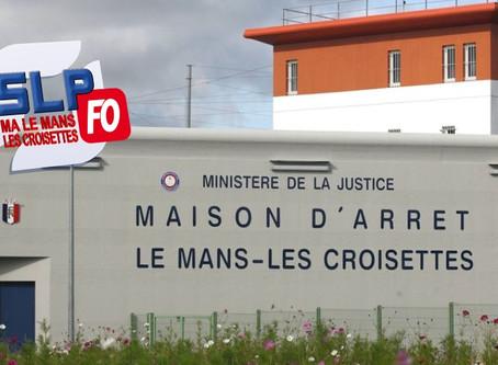 Prison Le Mans Les Croisettes : Projections et escalade