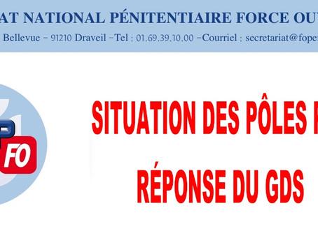 Situation des Pôles PSE : Réponse du GDS