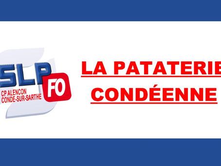 Prison d'Alençon Condé-sur-Sarthe : La pataterie condéenne