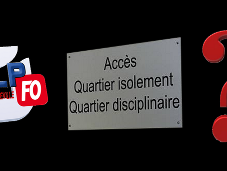 Prison de Nancy-Maxéville : Quartier d'isolement ?