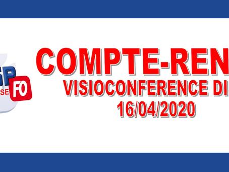 DI PACA-Corse : Compte-rendu visioconférence DISP 16/04/2020