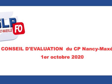 Prison de Nancy-Maxéville : Conseil d'évaluation du Centre Pénitentiaire