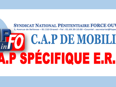 C.A.P de Mobilité: C.A.P spécifique É.R.I.S