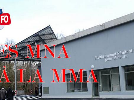 Prison d'Orvault : Des MNA à la MMA