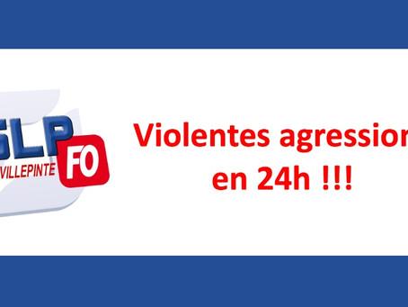 Prison de Villepinte : Violente agression en 24h !!!