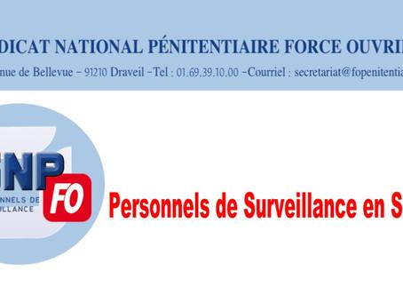 Lettre ouverte au Directeur de l'Administration Pénitentiaire : Personnels de surveillance en SPIP