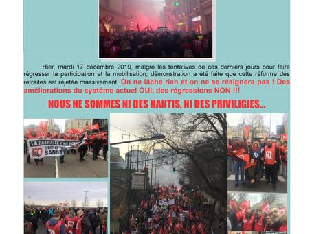 Mobilisation DISP Grand Est-Strasbourg : Notre détermination est totale ! (Aussi !!!)
