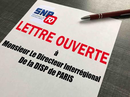 EPM de Porcheville : Lettre Ouverte à Monsieur Le Directeur Interrégional De la DISP de PARIS