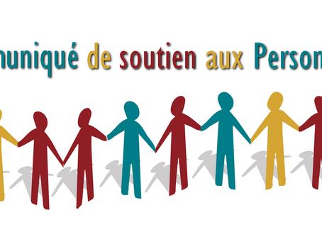 Prison de Fleury-Mérogis : Communiqué de soutien