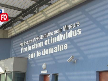 Prison de Porcheville : Projection et individus sur le domaine