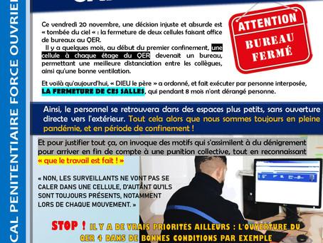 Prison de Vendin-le-Vieil : Carton rouge !