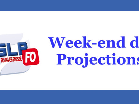 Prison de Bourg-en-Bresse : Week-end de projections