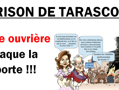 Prison de Tarascon : Force ouvrière claque la porte !!!