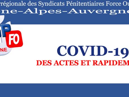 DI de Lyon : COVID-19 Des actes et rapidement !