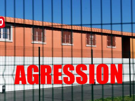 Prison de Lavaur : Coup de poing au visage en chaîne