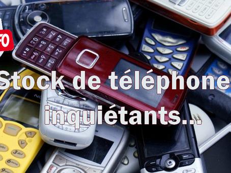 Prison de Rennes-Vezin : Stock de téléphones inquiétants...