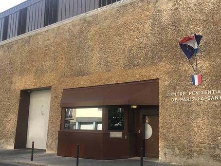 Prison de Paris-la-Santé: Compte rendu de la rencontre avec le service des agents