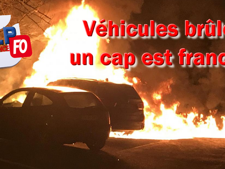 Prison de Valence : Véhicules brûlés, un cap est franchi...