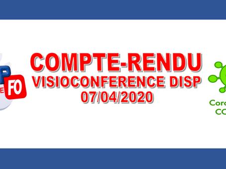 Compte-rendu : Visioconférence DISP PACA-Corse 07/04/2020