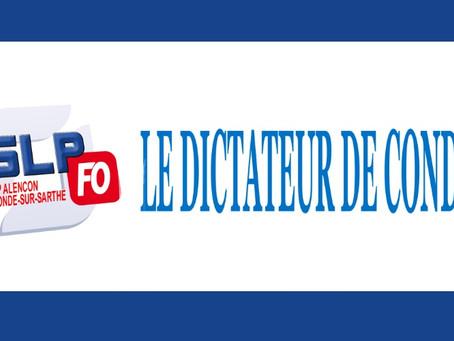 Prison de Condé-sur-Sarthe : Le dictateur de Condé