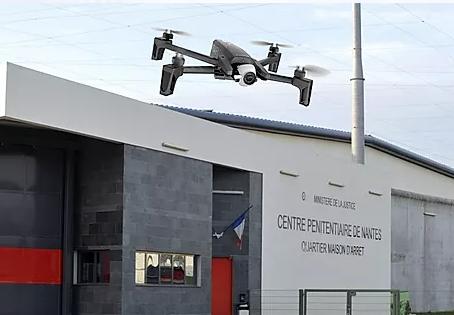 Prison de Nantes : Et maintenant les drones !!!