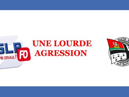 EPM d'Orvault : Une lourde agression