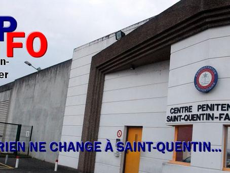 Prison de Saint-Quentin-Fallavier : Rien ne change...