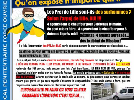 PREJ des Hauts-de-France : C'est en faisant n'importe quoi... Qu'on expose n'importe qui !!