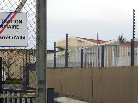 Prison d'Albi : Projections !