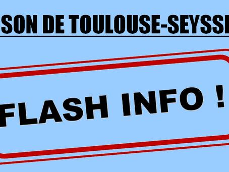 Prison de Toulouse-Seysses : Flash inFO