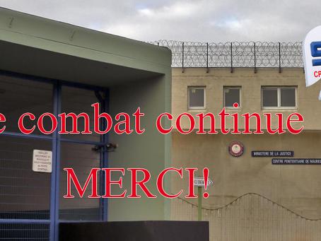 Prison de Maubeuge : Merci !