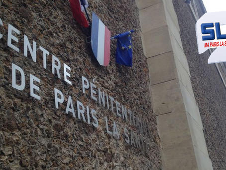 Prison de Paris La Santé : À coup de fourchette