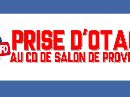 Prison de Salon-de-Provence : Prise d'otage au Centre de Détention