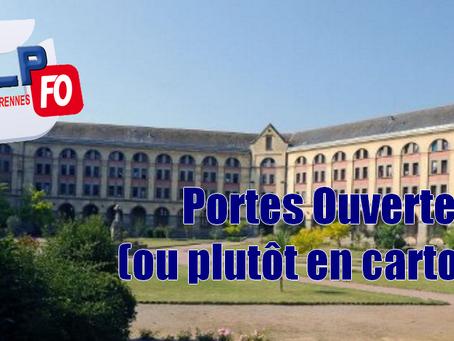 Prison de Rennes : Portes Ouvertes (ou plutôt en carton) !!!