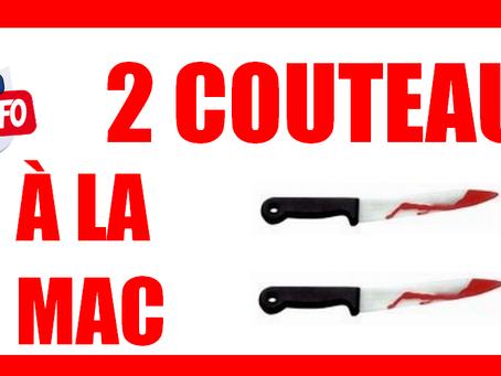 Prison de Toulon : 2 couteau à la MAC