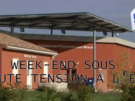 Prison de Lavaur : Week-end sous haute tension à l'EPM