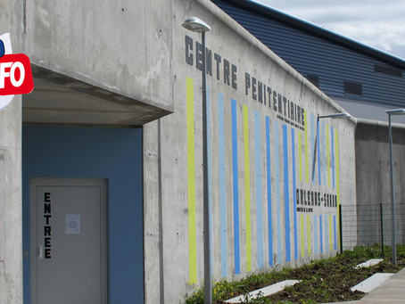 Prison d'Orléans-Saran : Irrécupérable !!!!!