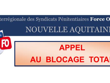UISP-FO Nouvelle Aquitaine : APPEL AU BLOCAGE TOTAL