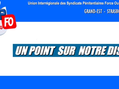 Grand Est- Strasbourg : Un point sur notre DISP...