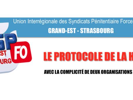 Le protocole de la honte : Avec la complicité de deux organisations syndicales