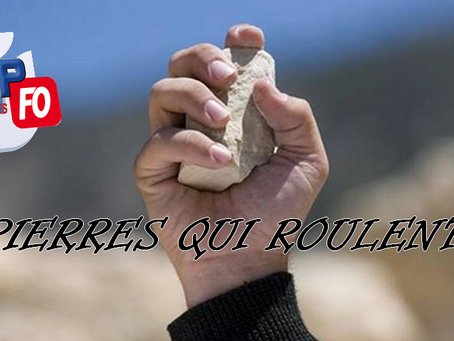 Prison de Coutances : Pierres qui roulent....