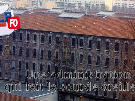 Prison de Fresnes : Une administration qui fait la sourde oreille ???