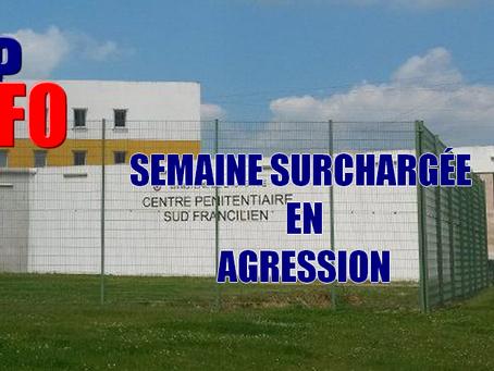 Prison de Réau : Semaine surchargée en agression
